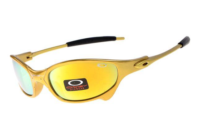 Oakley Juliet Black Yellow Frame Colorful Lens 2003