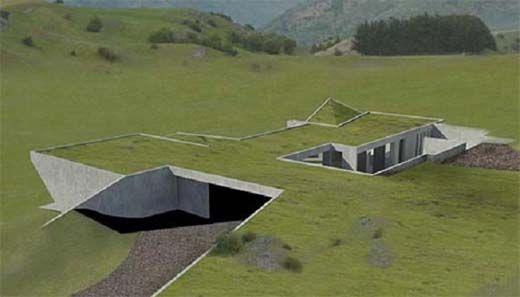 Fotospecial: Ondergrondse huizen - bouwenwonen.net