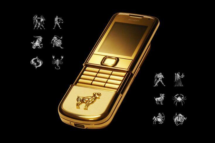 MJ - NOKIA 8800 ARTE GOLD DIAMOND - Эксклюзивные, роскошные и элитные мобильные телефоны