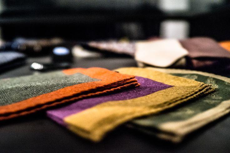 Sauma's scarfs for the autumn. Photo (c) Risto Kantola
