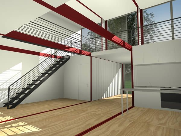 """Cargo Container Homes Interiors 