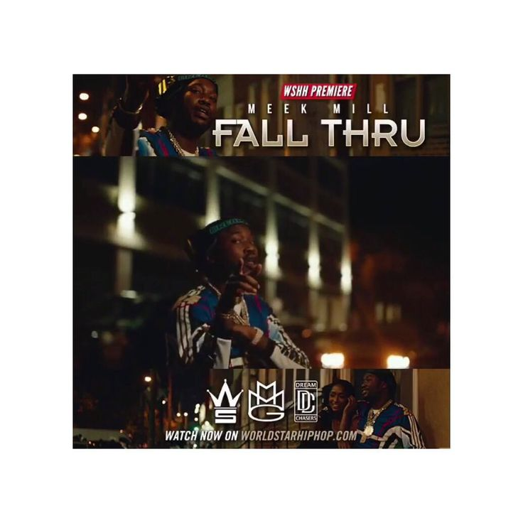 """Be sure to check out @MeekMill's new video for his track """"Fall Thru"""" off his most recent project """"Wins & Losses"""". Visit @worldstar today to see the exclusive release! Double tap & feel free to share your views below!  . . . . . . . . . . #MeekMill #FreeMeekMill #FreeMeek #WinsAndLosses #FallThru #GoodMorning #NYC #TBT #Philly #MMG #HipHop #Rap #HipHopNews #HipHopHead #TrueHipHopFan #XXL #Complex #Worldstar #WSHH #New #Music #NewMusic #Dope #Cool #Lit #Wow #Mood #UpcomingArtist #Follow #Like"""