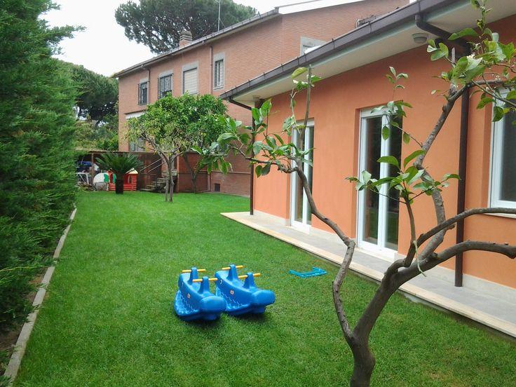 Asilo #green in materiali #ecologici per elevato #benessere abitativo e #comfort per far crescere i nostri #figli in un #ambiente caldo #naturale e salubre