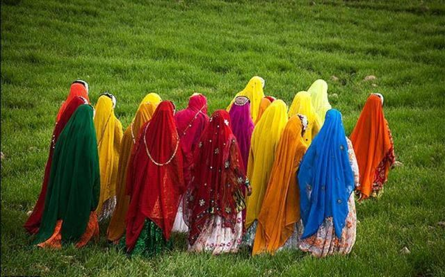 Persian Nomads, beautiful and colorful