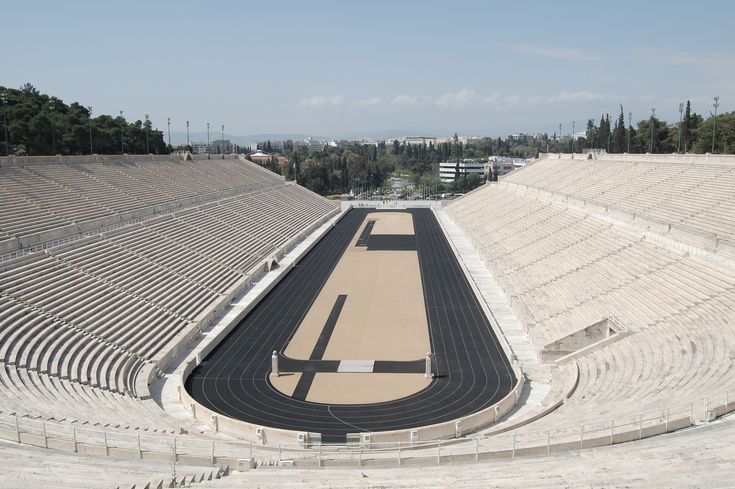 Wikipedia - Kallimarmaron Stadion Athens Greece #hellas #stadium https://en.wikipedia.org/wiki/Panathenaic_Stadium