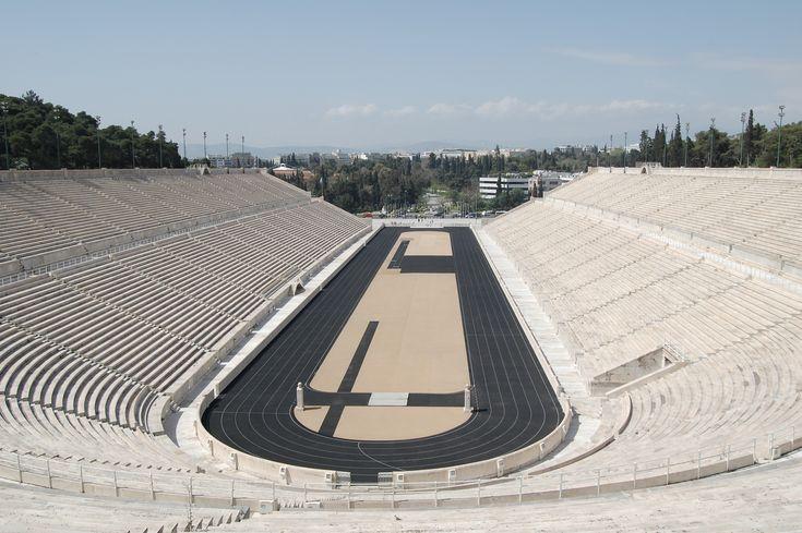 Wikipedia - Kallimarmaron Stadion Athens Greece #hellas #stadium https://en.wikipedia.org/wiki/Panathenaic_Stadium