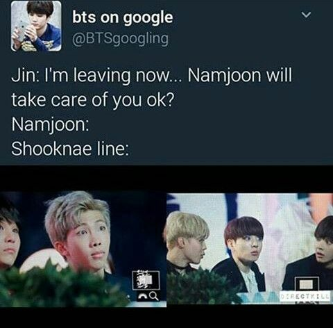 Namjoon honey you will be fine. JUST DONT LOSE THE MEMBERS HAHAH