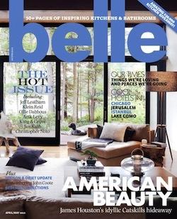 Belle Interior Design Magazine Home Decorating Shelter Architecture Lifestyle