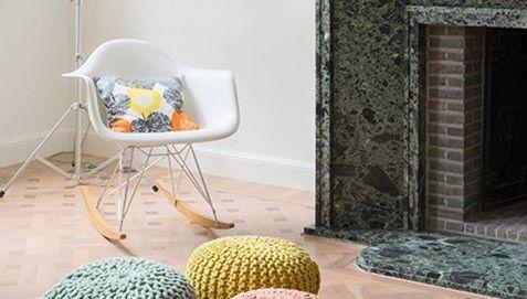 Sedia a dondolo RAR Charles Eames Style - Polipropilene Opaco - Sedie da soggiorno 70 euro con spedizione