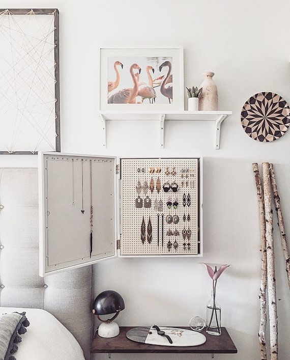 Best 25 Wall mount jewelry organizer ideas only on Pinterest