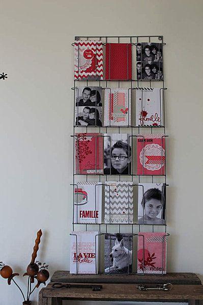 Les 25 meilleures id es de la cat gorie presentoir carte - Presentoir carte postale mural ...
