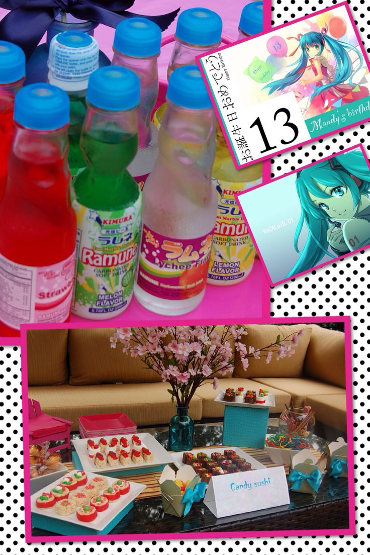 773 best images about birthday party ideas on pinterest for 13th birthday party decoration ideas