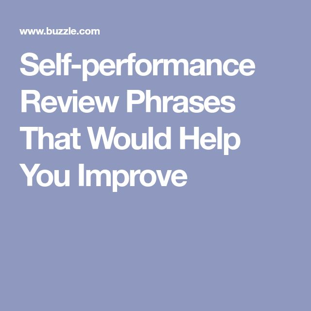 Best SelfEval Images On   Performance Evaluation