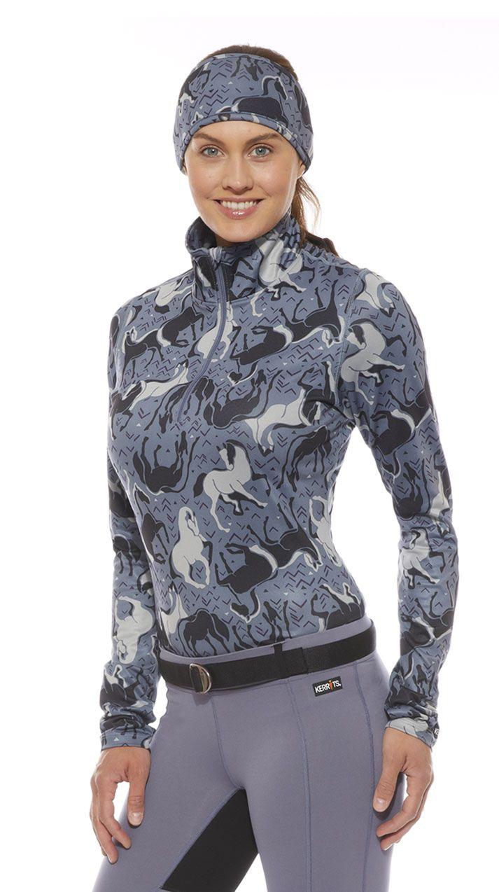Horse Sense Half Zip Riding Shirt   Kerrits