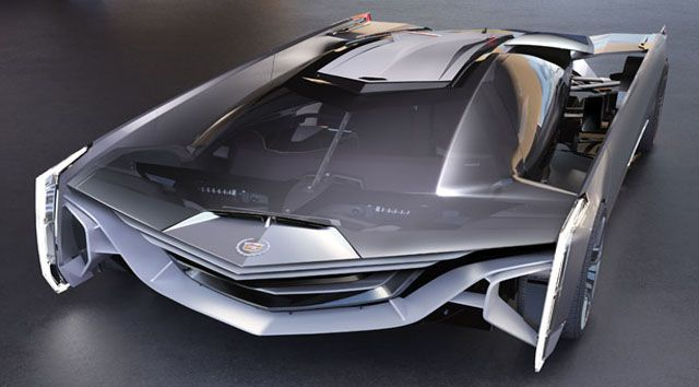 future concept supercars | Future technology Concept the futuristic supercar Cadillac Estill