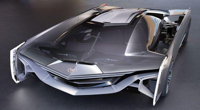 future concept supercars | Future technology Concept the futuristic supercar Cadillac Estill