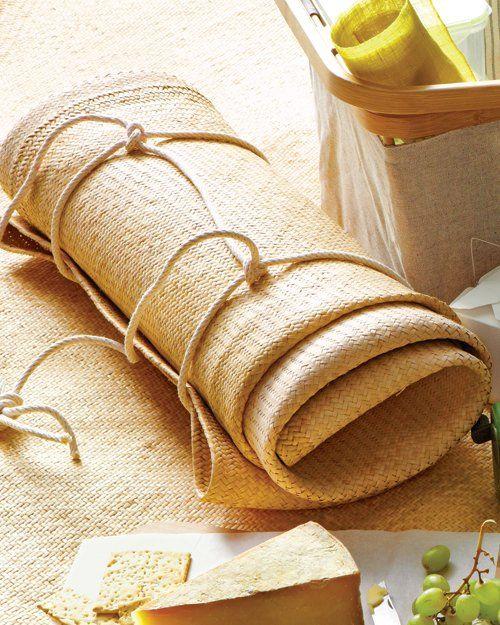 Um nó muito fixe para toalhas esteiras e etc etc