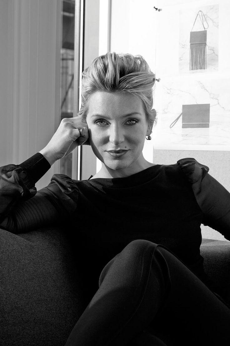 Kurt Geiger Creative Director, Rebecca Farrar- Hockley talks to Glamour Magazine