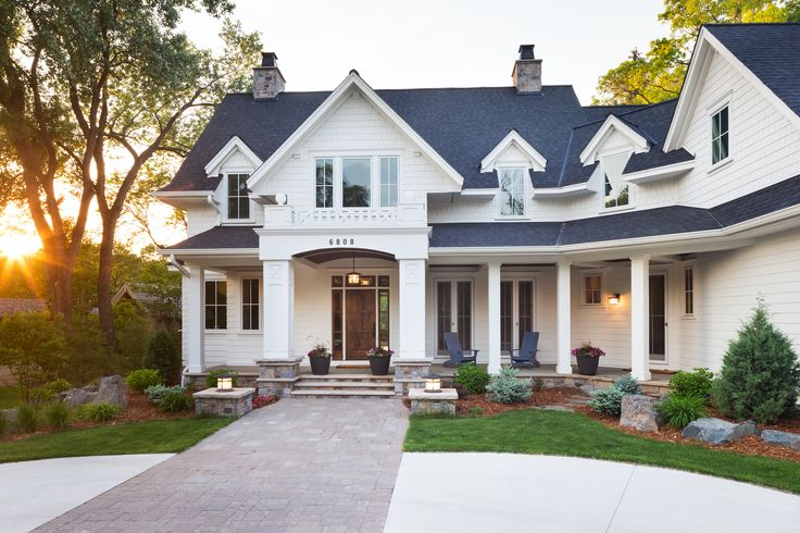 I love the outside look and feel of this home. The space and land between neighbors is the planned design.