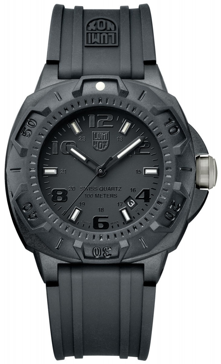 Luminox Modell The Sentry 0201 Blackout Tactical Military