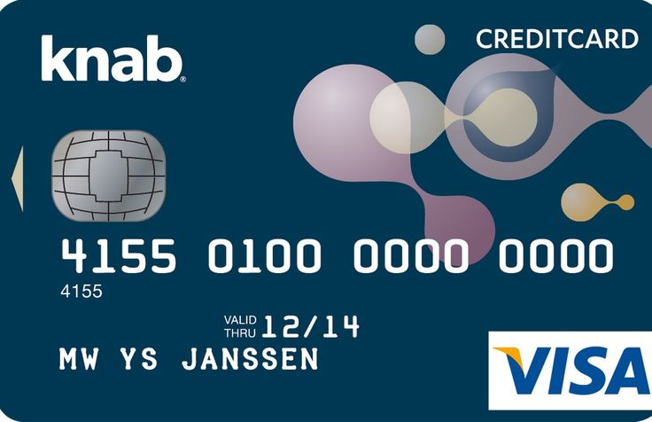 Visa Card gratis met Knab Plus Bank Pakket. Vraag nu uw creditcard aan! #creditcard #gratis #knab
