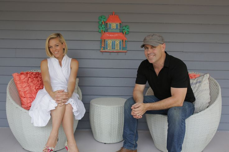 Kortney & Dave on the porch