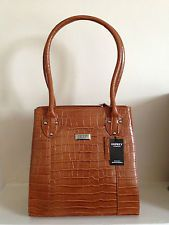 OSPREY LONDON TAN LEATHER DESIGNER HANDBAG.....an early birthday present from my lovely husband