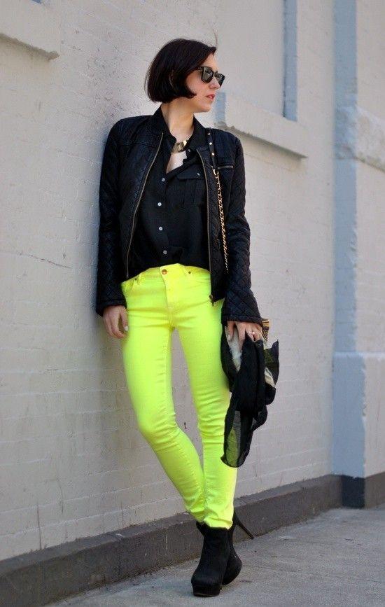 1000  ideas about Neon Pants on Pinterest | Summer Jacket, Mint ...