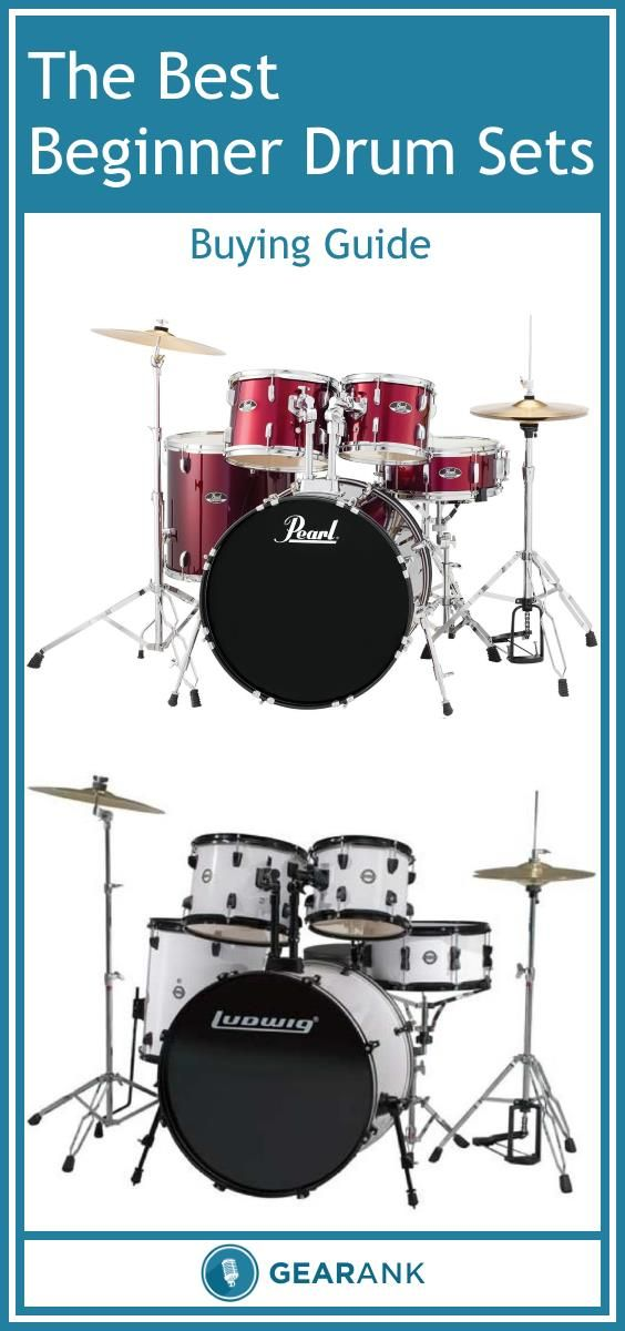 Detailed Guide to The Best Beginner Drum Sets - Acoustic Under $500.  Tells you everything you need to know to buy a starter drum kit online while avoiding potential pitfalls. Also lists the highest rated drum sets currently available for less than $500.