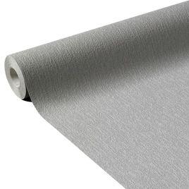 Papier peints gris salon