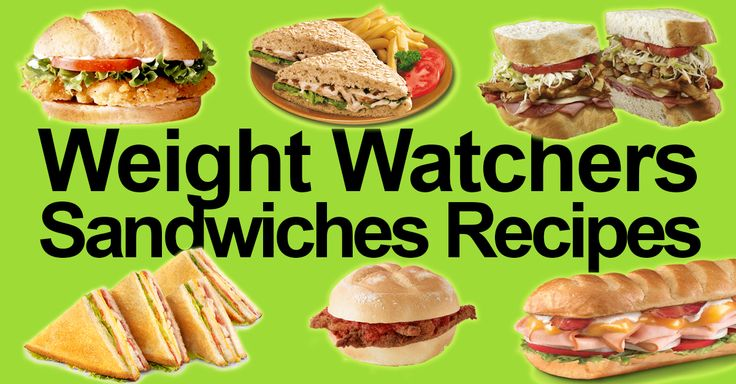 25 Weight Watchers Sandwiches Recipes with SmartPoints