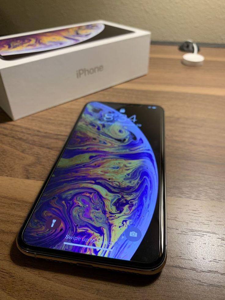Apple iphone xs max 64gb silver att a1921 cdma