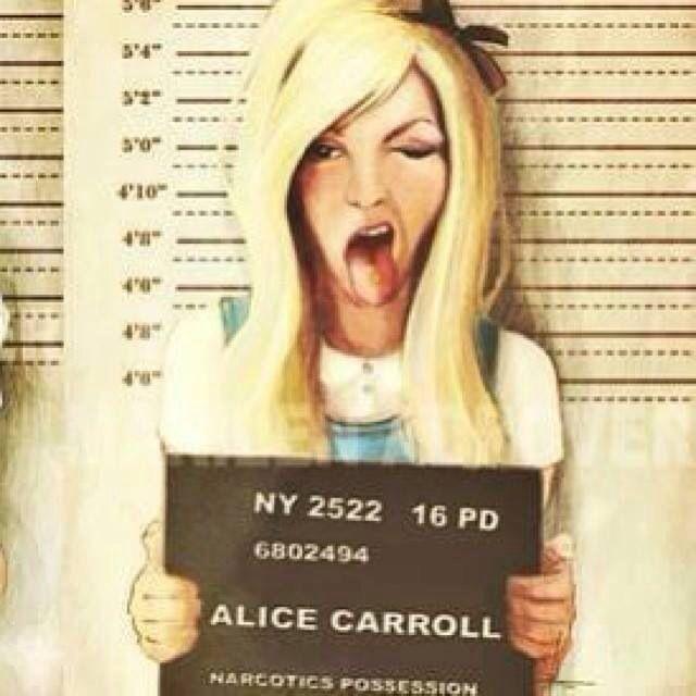 Ha! Alice in Wonderland gone bad...
