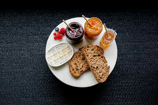 "Cheerful breakfast ""The Brown Bread Bag """