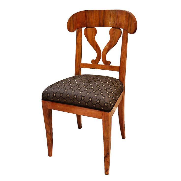 Classic Biedermeier Chair, German, C. 1830