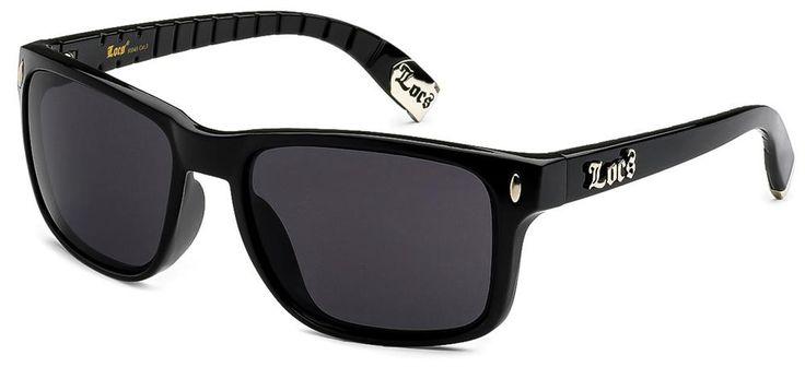 Locs Sunglasses - Retro Classic Style 91045 - Black