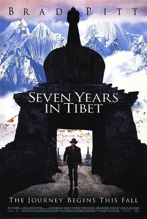 Seven Years In Tibet Movie Poster - Internet Movie Poster Awards Gallery
