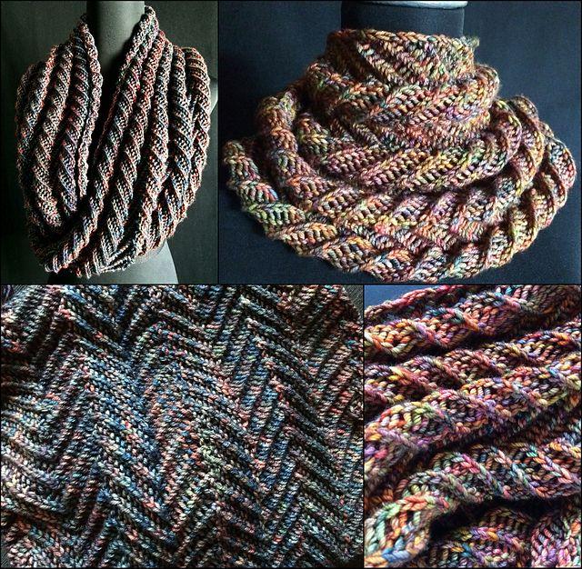 Ravelry: Spiral Euphoria Cowl pattern by Jennifer Kirchenbauer