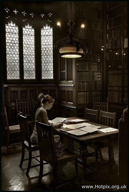 """Reader In The John Rylands Library, Manchester UK"" by Hotpix UK Tony Smith"