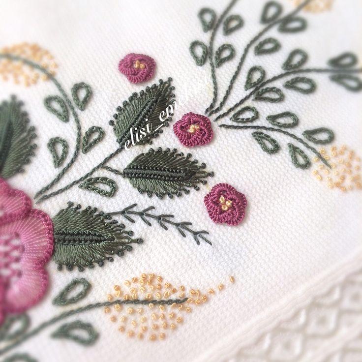 Günümüz aydın olsun kalbimiz mutluluk ve huzurla dolsun #mutlulukyakalanir#embroidery#handmade#10marifet#elisi_emekisi#elişi#nakış#elnakışı#havlu#çeyiz#sipariş