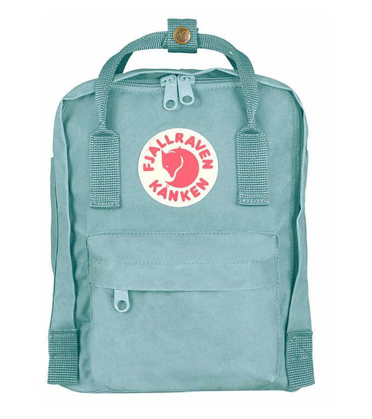 Fjallraven Kanken Mini Backpack Bag Sky Blue