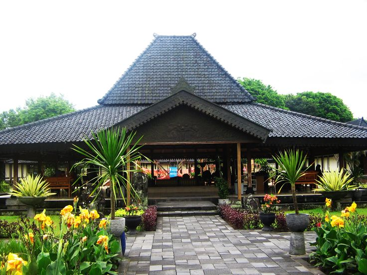 45 Desain Rumah Joglo Khas Jawa Tengah Desainrumahnya Home Pinterest