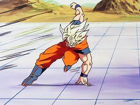 SSJ Goku vs Perfect Cell