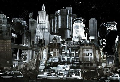 collage cityscape | images were mostly taken from Jamie Kinroy 's blog