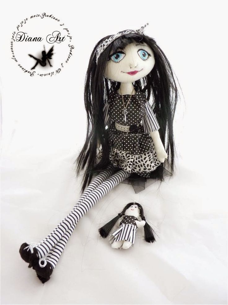 doll, black, art diana