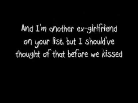 """Ex-girlfriend with lyrics    P.S I know on the end credits it says """"No Doub""""...sorry, my computer took off the """"T"""". My appologies."""