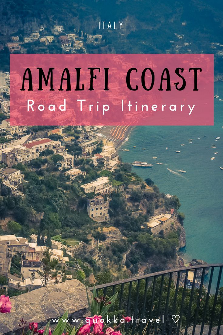 An Coast Amalfi road trip definitely gives you one of Italy's most scenic and good fun coastline drives. Authentic terraced hill villages, unpredictable winding roads, steep cliffs and Italian wine. An Amalfi road trip gives you one of Italy's most scenic and good fun coastline drives. We share all you need to know, including car rental tips and roadtrip itineraries for one and two weeks.