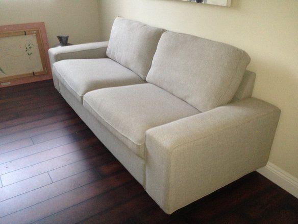 Ikea Kivik Sofa in Teno Light Grey