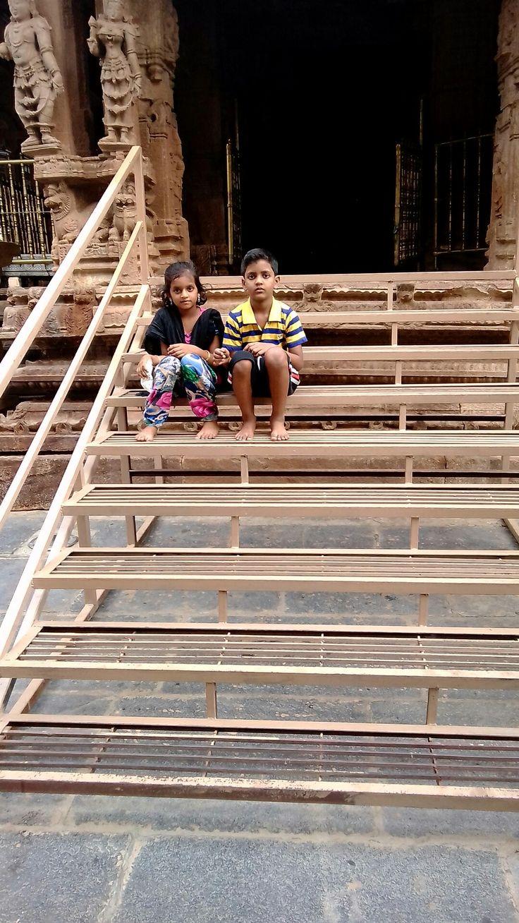 Author Dadagari Jeelan nephew and niece