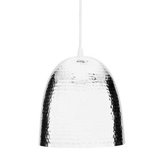 Buy Hammered Metal Ceiling Pendant Light - Chrome at Argos.co.uk - Your Online Shop for Limited stock Home and garden, Lighting, Ceiling and wall lights.